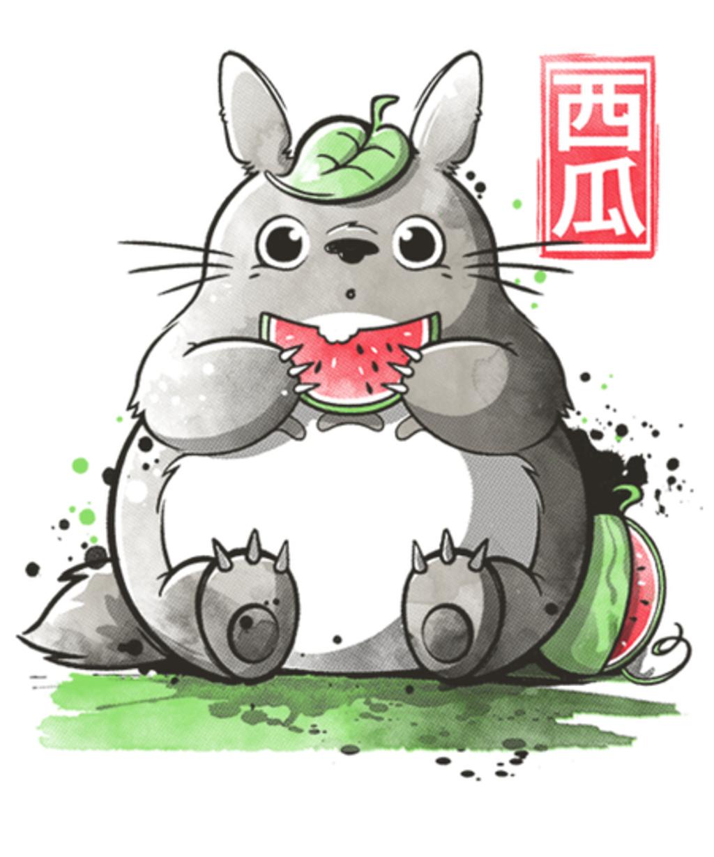 Qwertee: My neighbor watermelon