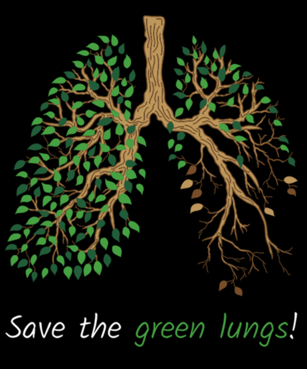 Qwertee: Save the green lungs