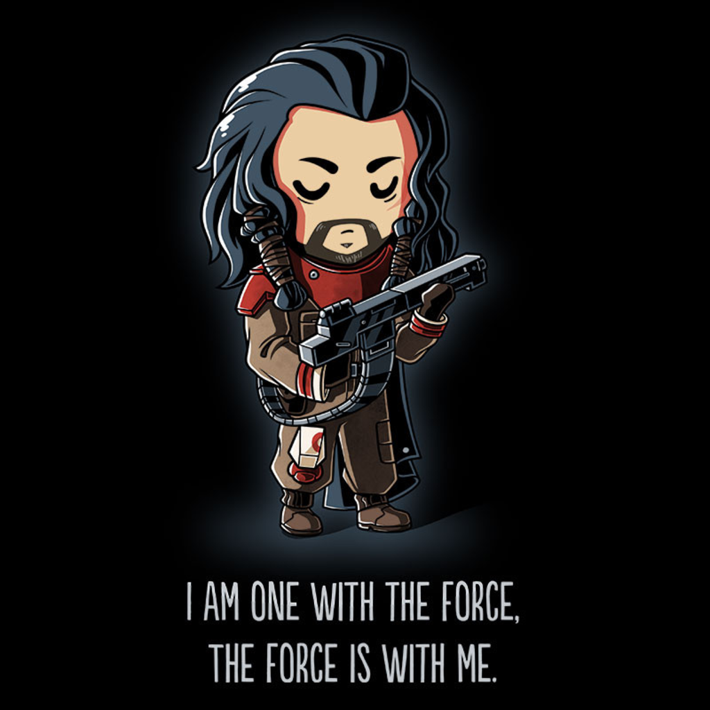 TeeTurtle: One With The Force (Baze)