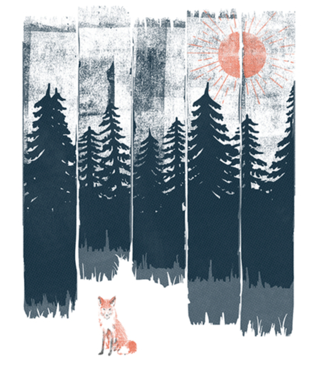 Qwertee: A Fox in the Wild