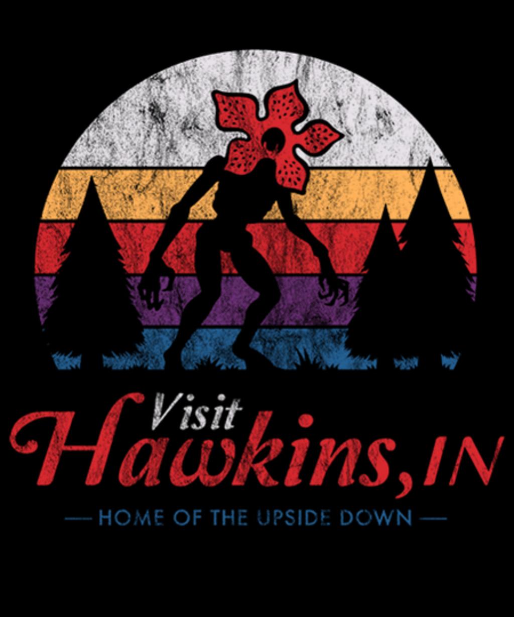Qwertee: Visit Hawkins