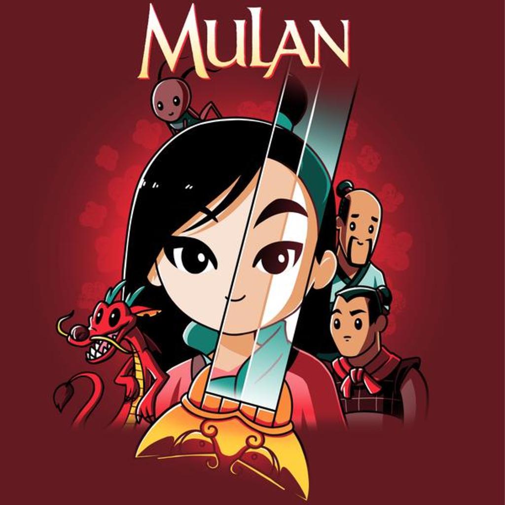 TeeTurtle: Disney Mulan