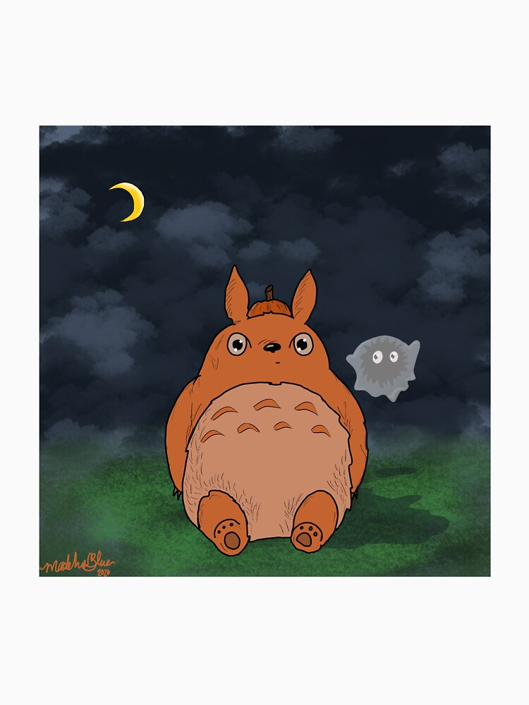 RedBubble: Pumpkin ghibl Toto soot