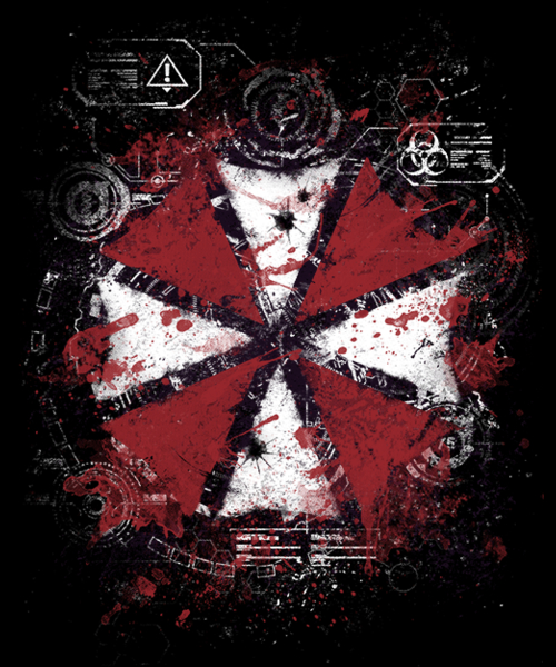 Qwertee: It's raining Blood