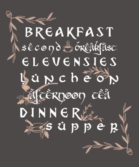 Qwertee: Second breakfast?
