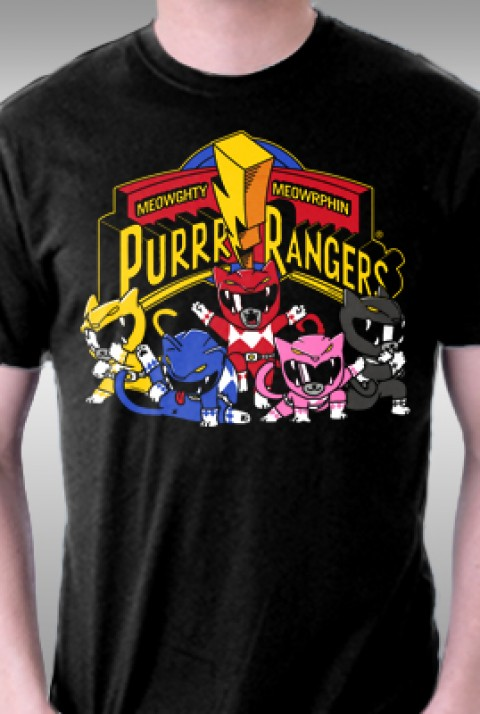 TeeFury: Purrr Rangers