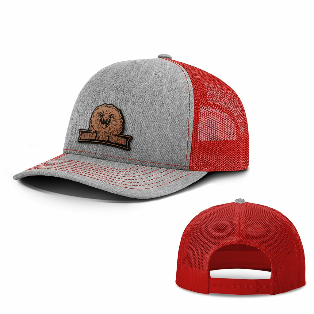 BustedTees: Eagle Fang Leather Patch Hats