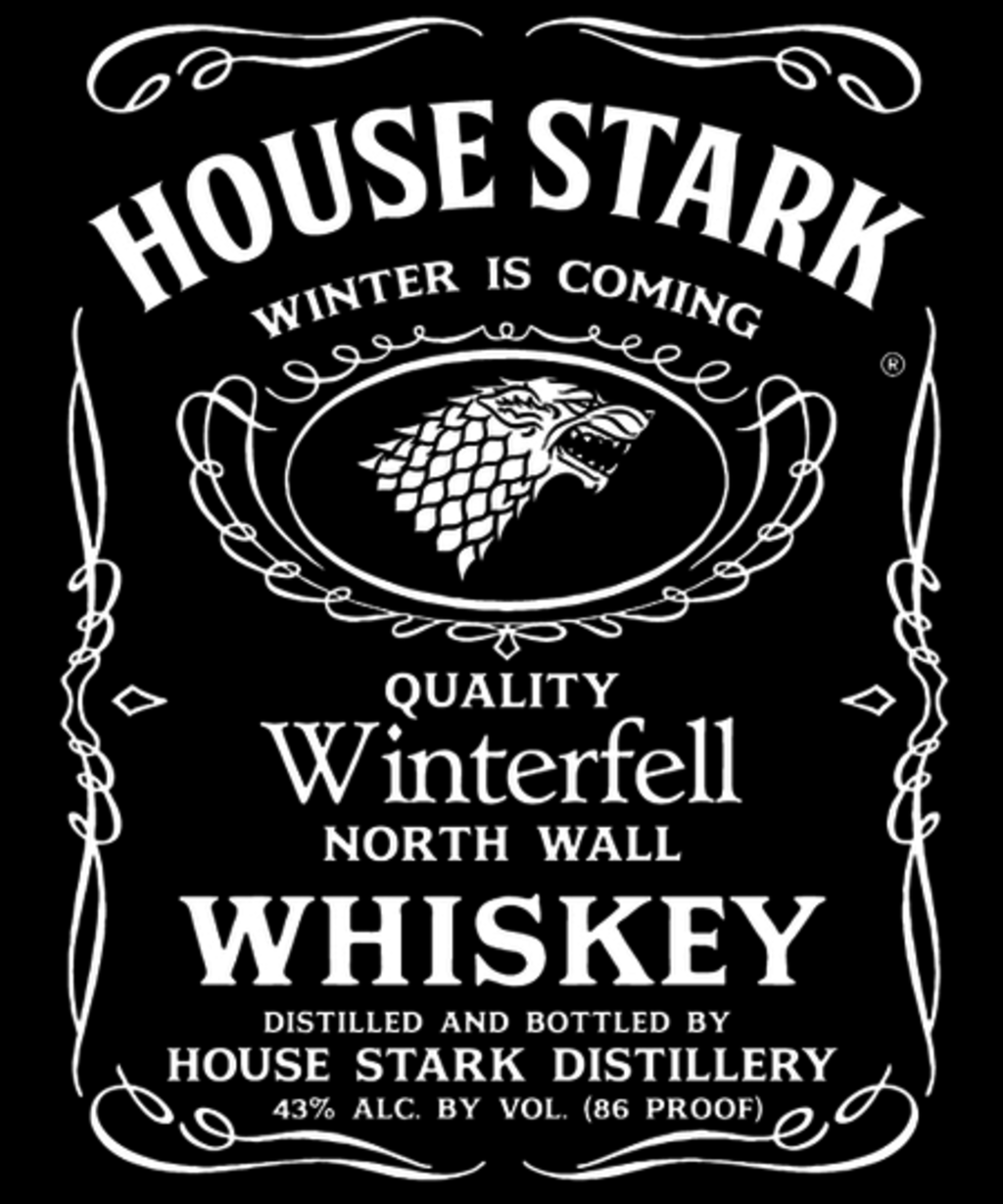 Qwertee: Stark Whiskey