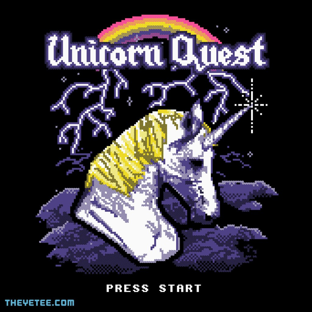 The Yetee: Unicorn Quest by Hillary White