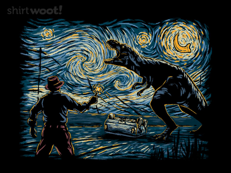 Woot!: Jurassic Night - $15.00 + Free shipping