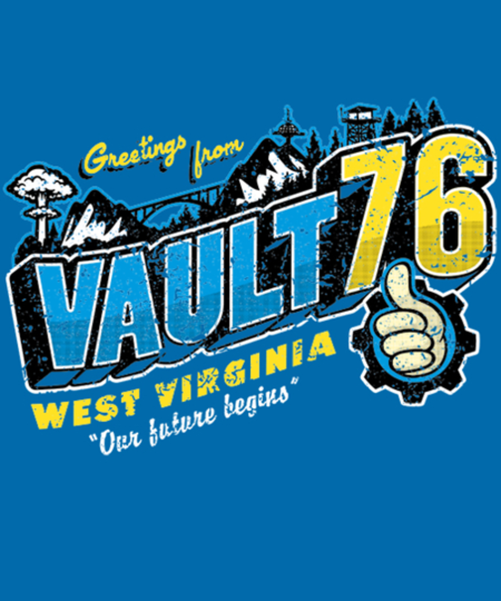 Qwertee: Greetings from WV Vault