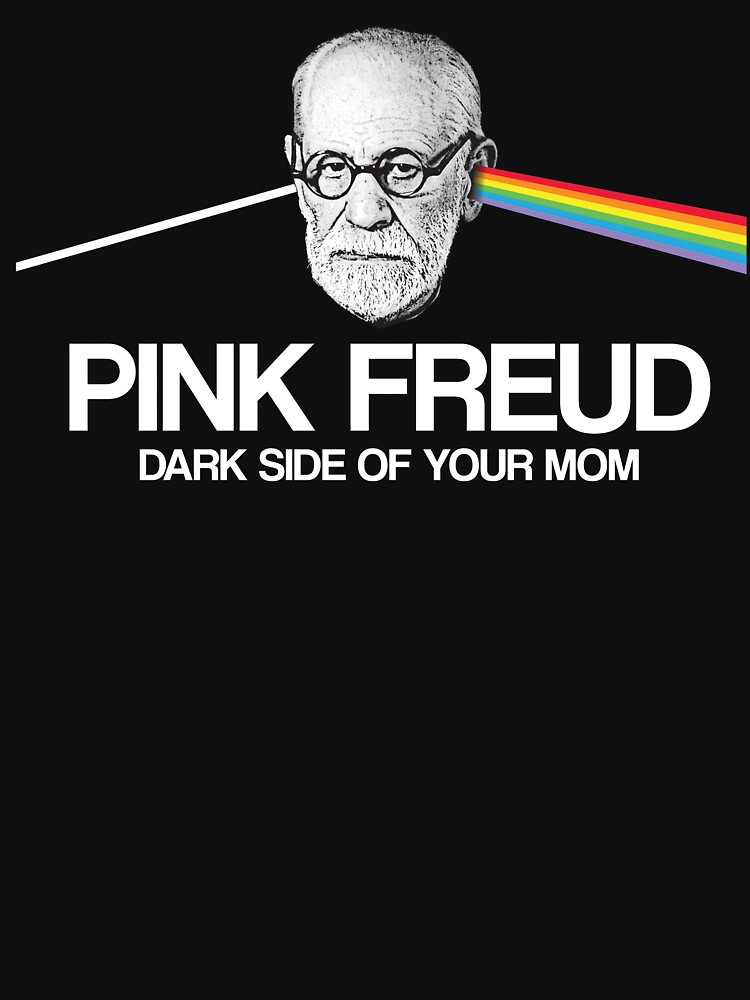 RedBubble: Pink Freud - Dark Side of your Mom