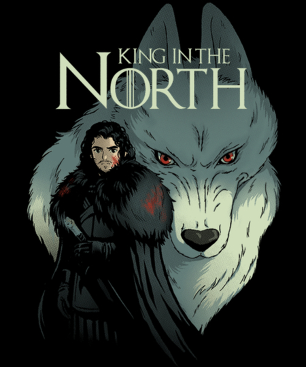Qwertee: King in the north