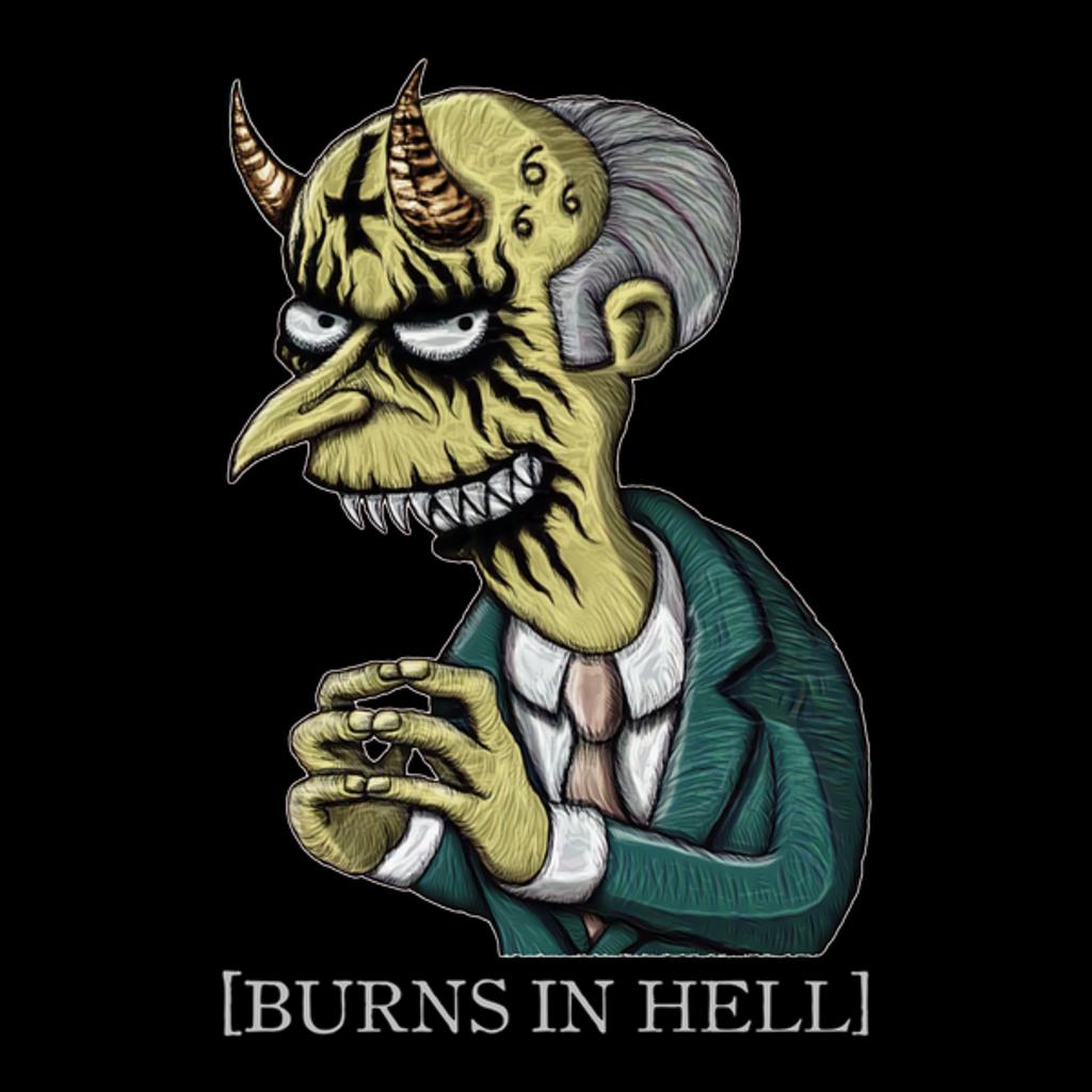 NeatoShop: Burns in Hell - Azhmodai 2018