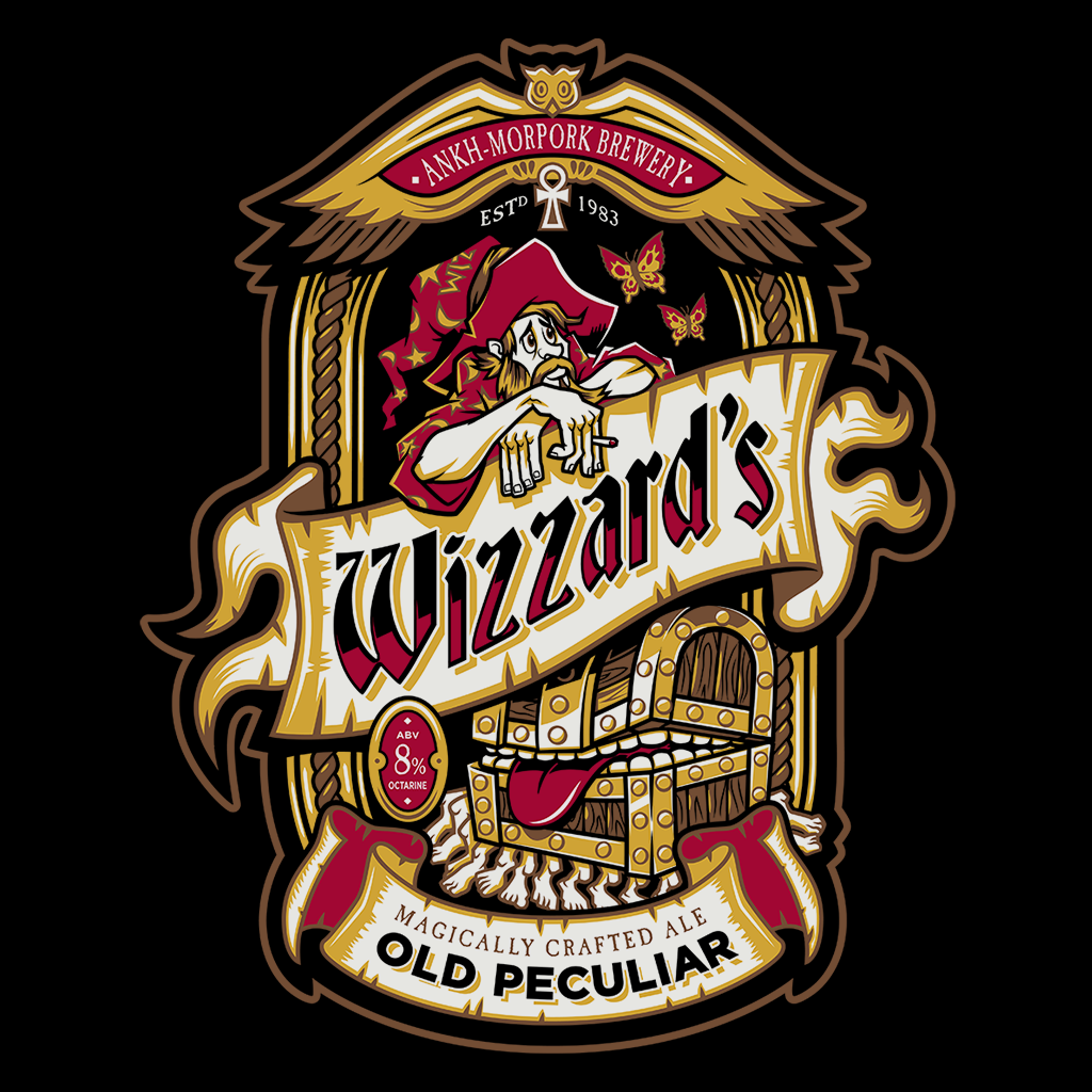 Pop-Up Tee: Wizzards Old Peculiar