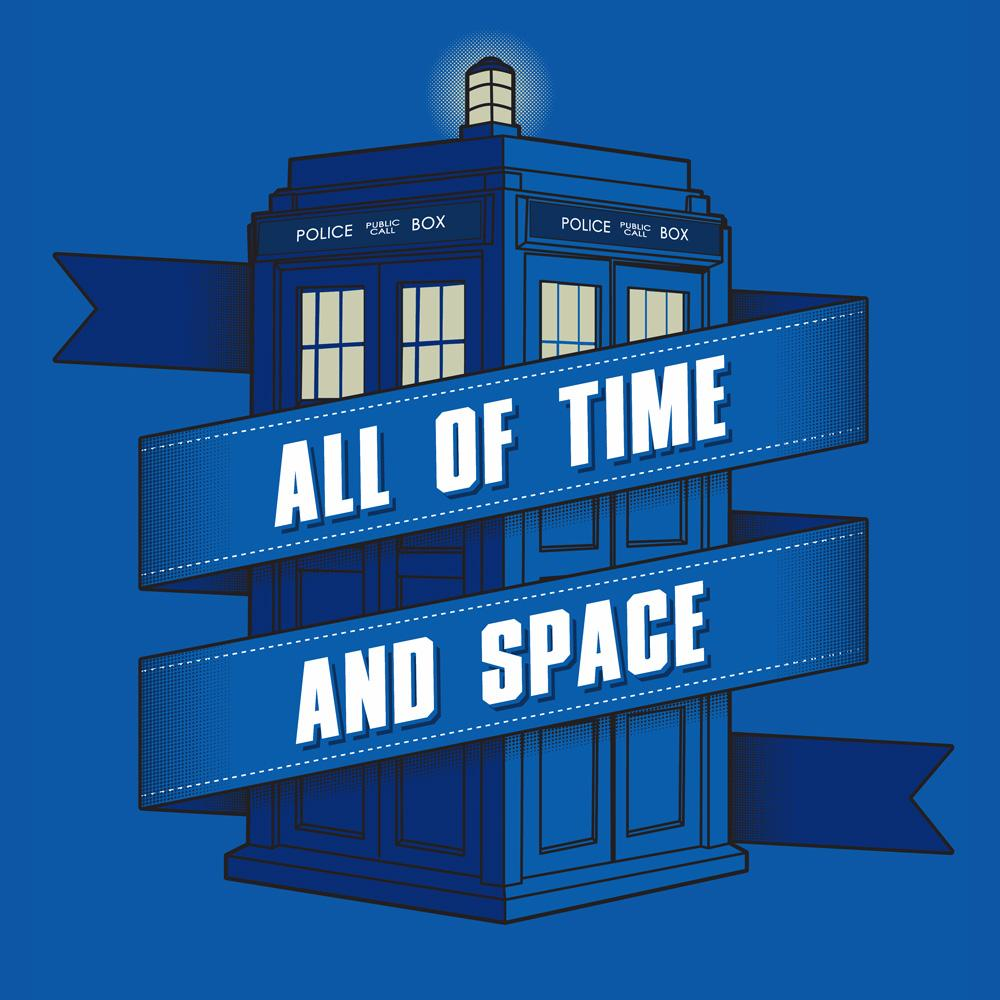 Blue Box Tees: All Of Time and Space
