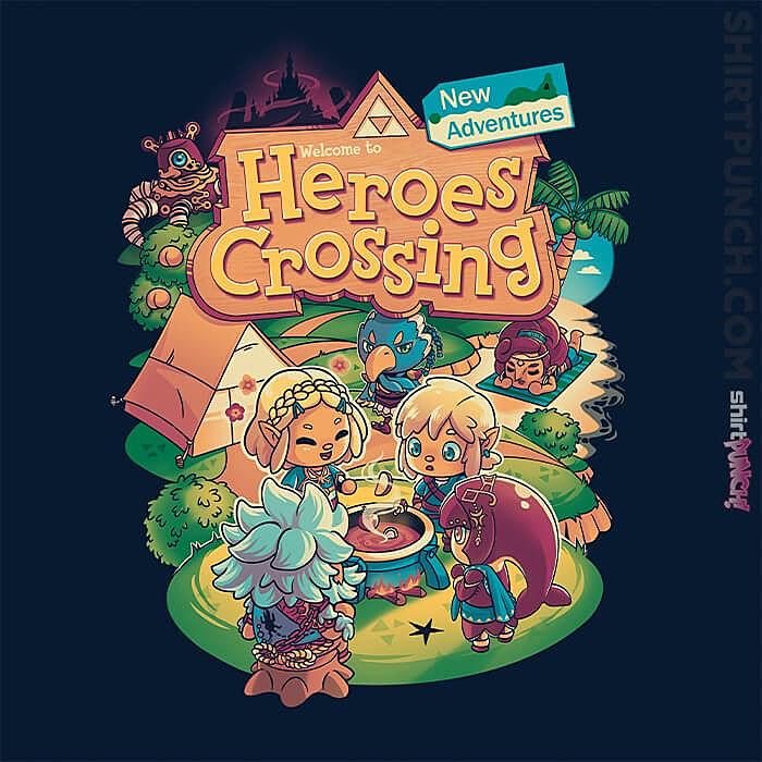 ShirtPunch: Heroes Crossing