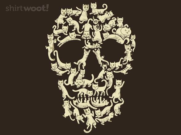 Woot!: Cat Skull - $7.00 + $5 standard shipping