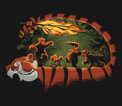 TeeFury: Jungle Road