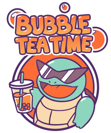 Qwertee: Bubble Tea Time