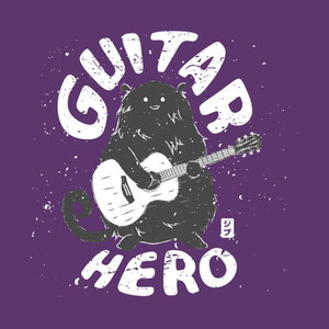 TeePublic: GUITAR HERO T-Shirt