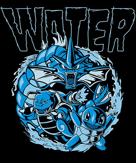 Qwertee: WaterType