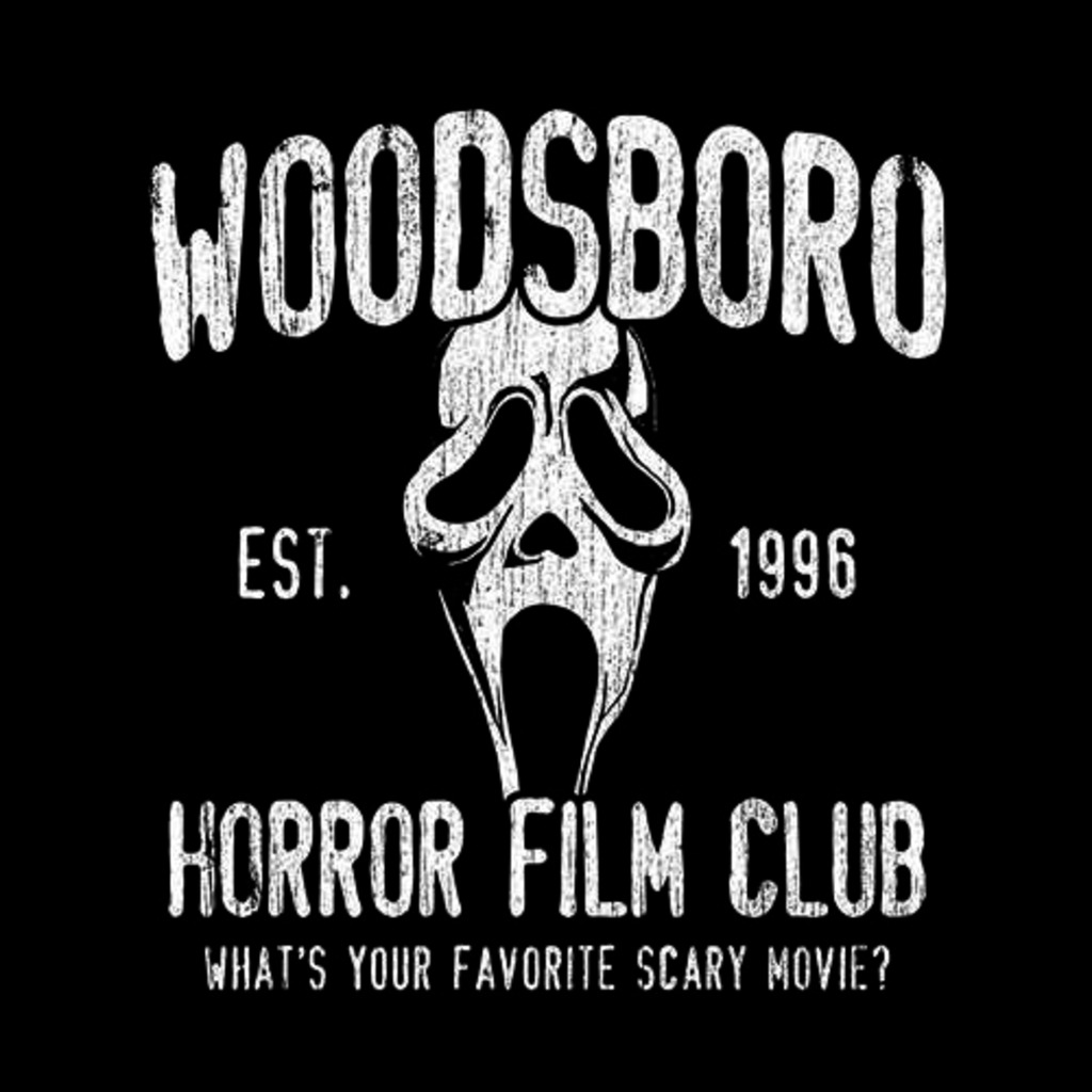 Five Finger Tees: Woodsboro Horror Film Club T-Shirt