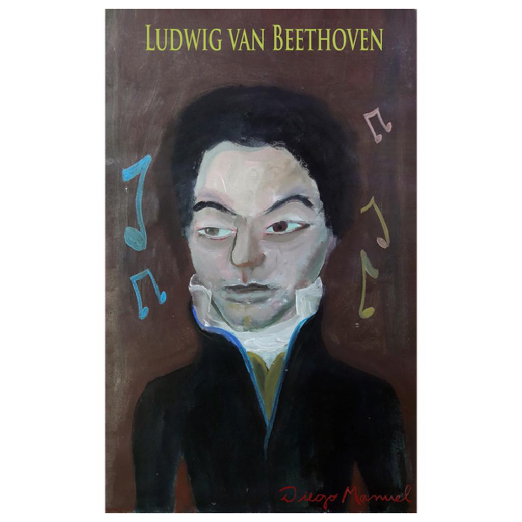 NeatoShop: Ludwig van Beethoven portrait 2 b