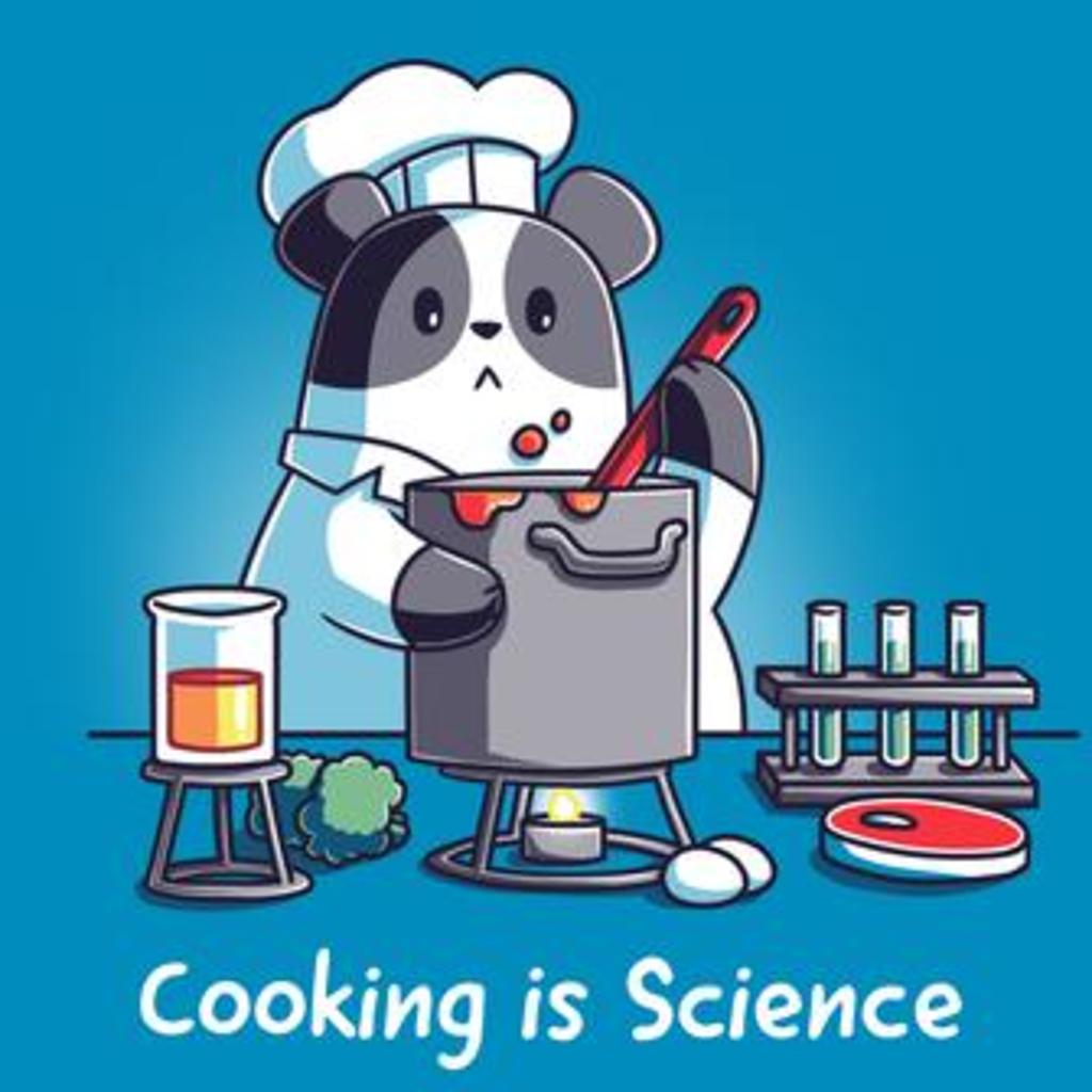 TeeTurtle: Cooking is Science