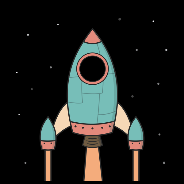 NeatoShop: Cool Kids Spaceship Rocket
