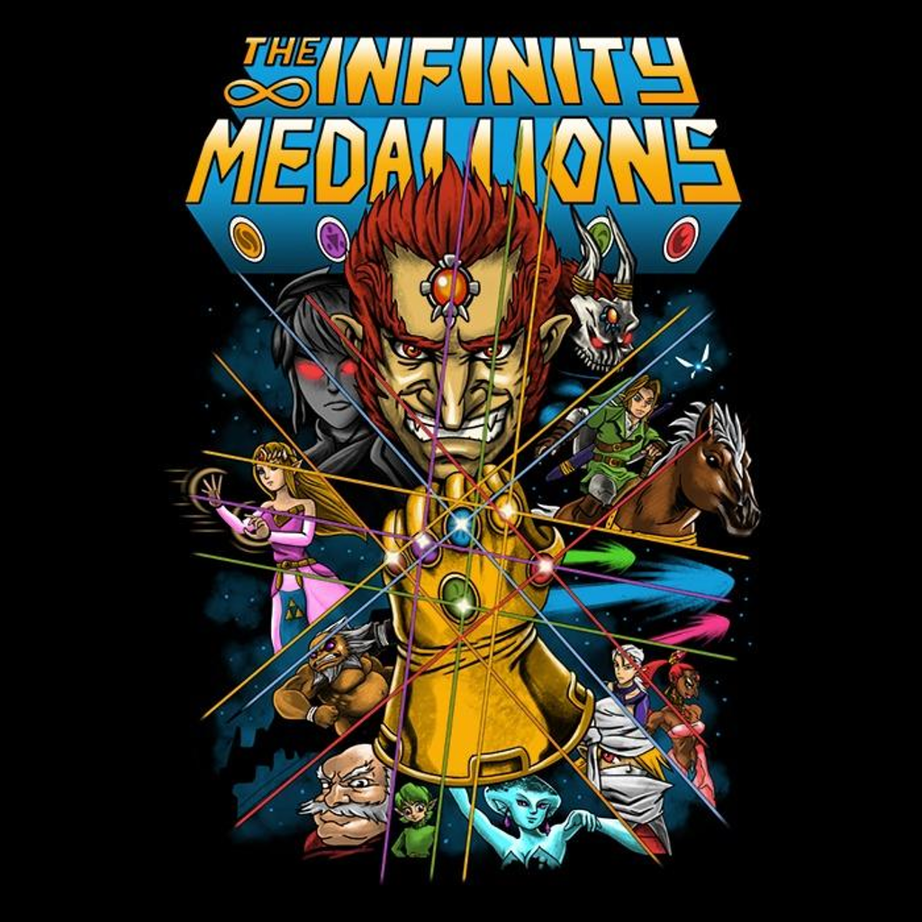 Once Upon a Tee: Infinity Medallions