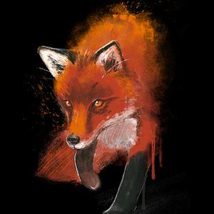 Qwertee: Fox ink