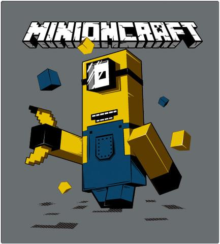Shirt Battle: MINIONCRAFT