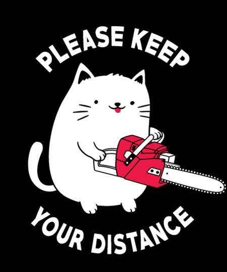 Qwertee: Social Distancing Reminder