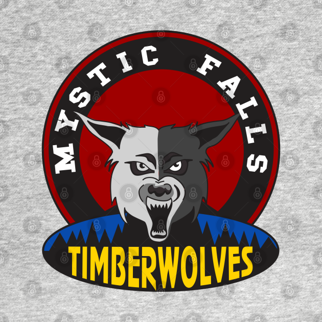 TeePublic: Mystic Falls Timberwolves