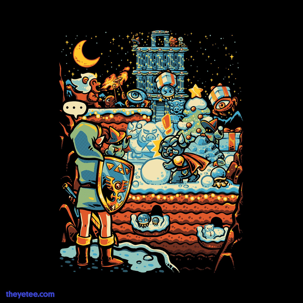The Yetee: Winter in Death Mountain