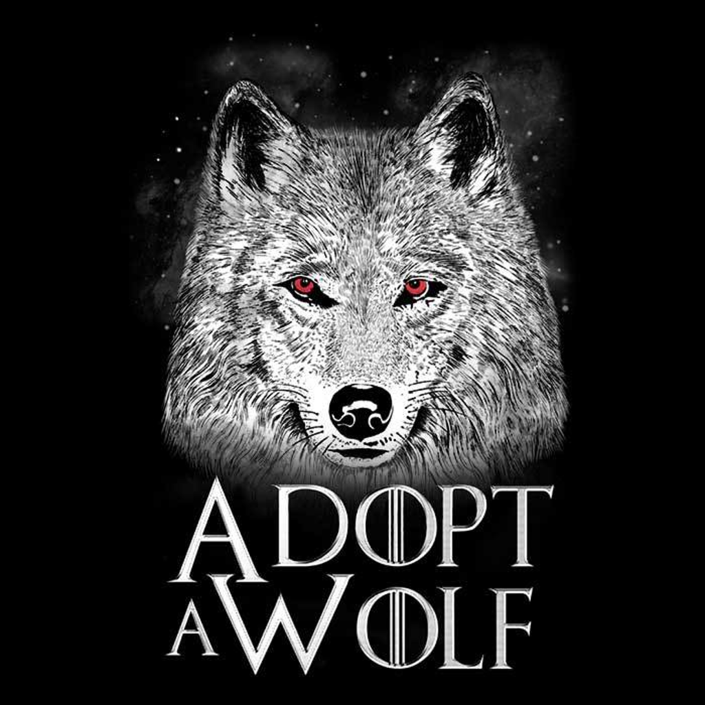 Once Upon a Tee: Adopt a Wolf