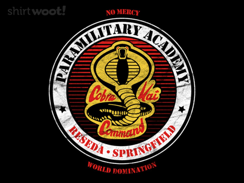 Woot!: Cobra Dojo
