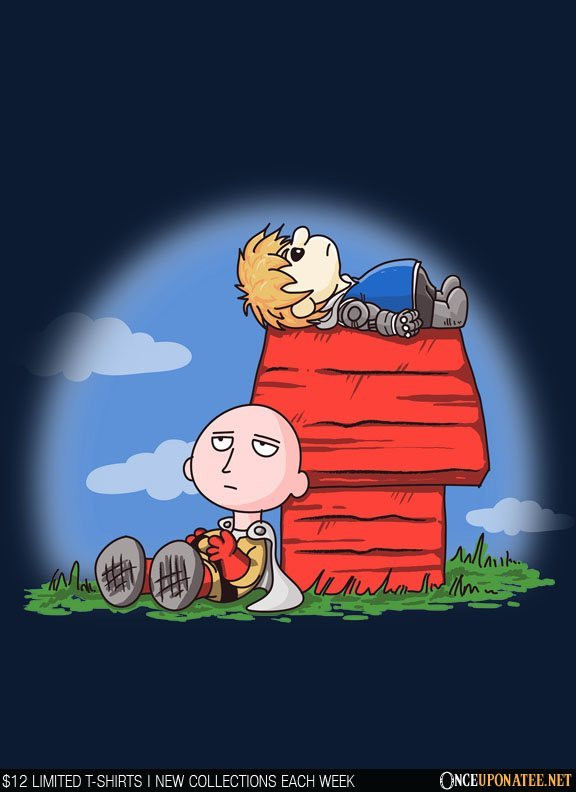 Once Upon a Tee: One Punch Peanut