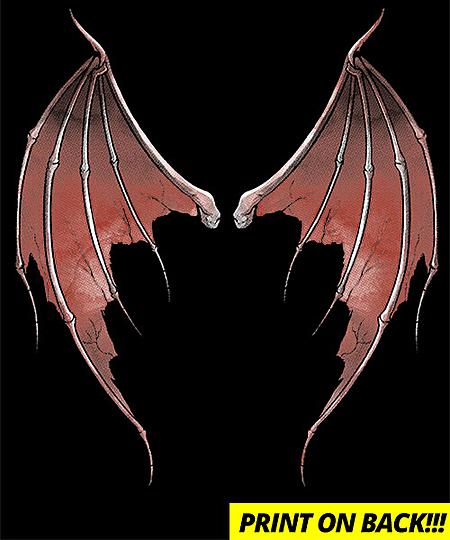 Qwertee: Devil wings