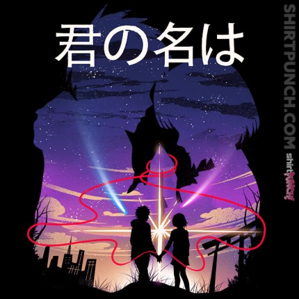 ShirtPunch: I'll search for you forever