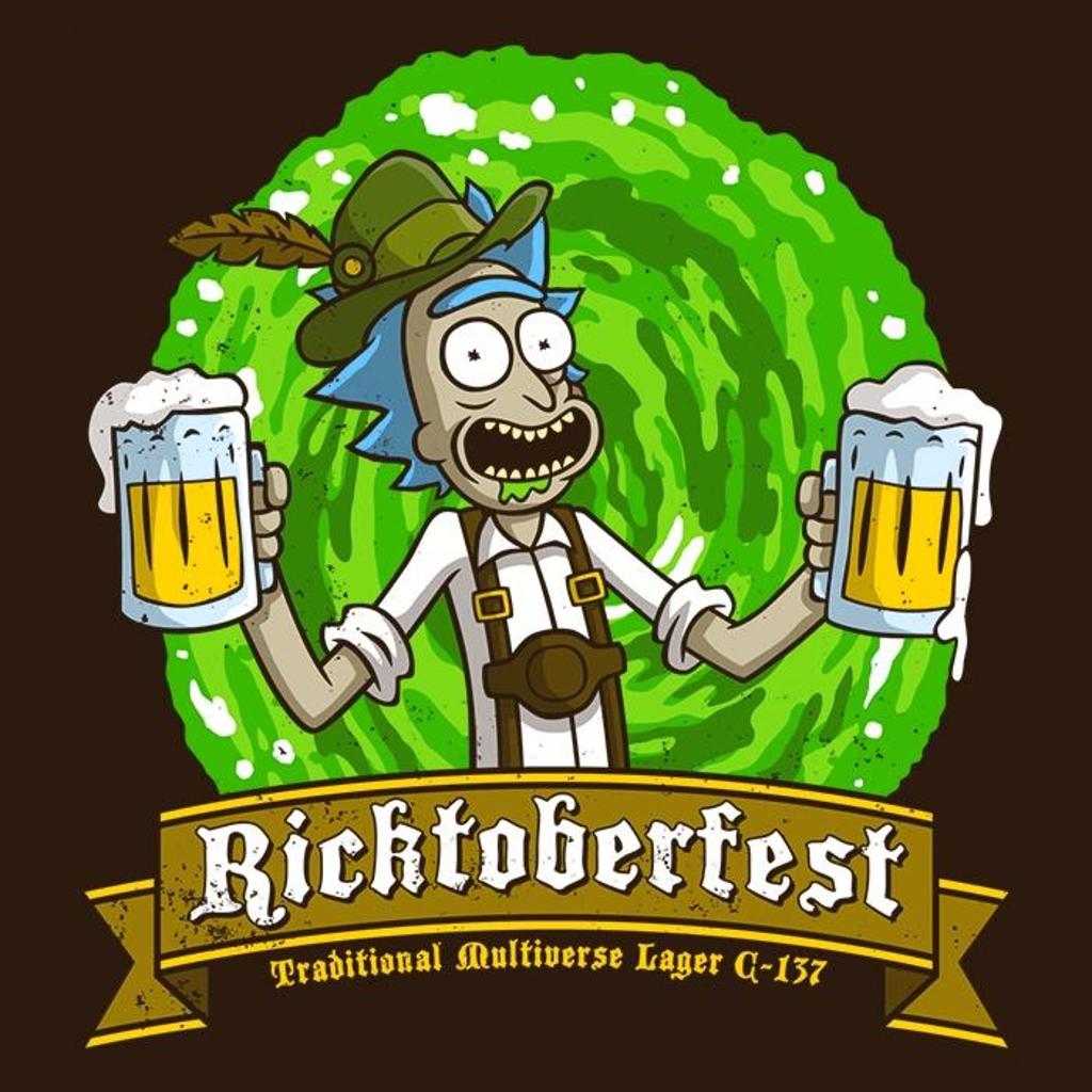 Once Upon a Tee: Ricktoberfest