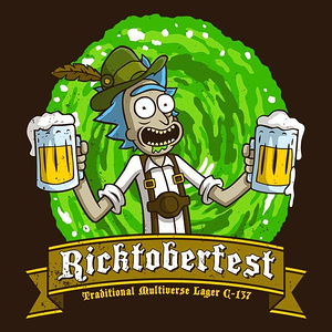 Once Upon a Tee: Ricktoberfest