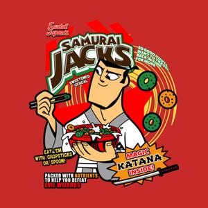 TeePublic: Samurai Cereal