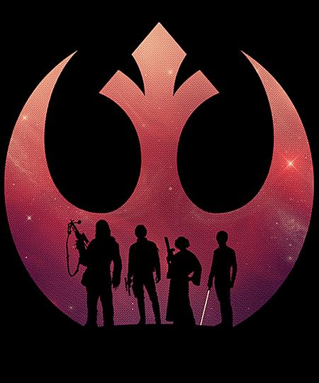 Qwertee: Classic Rebels