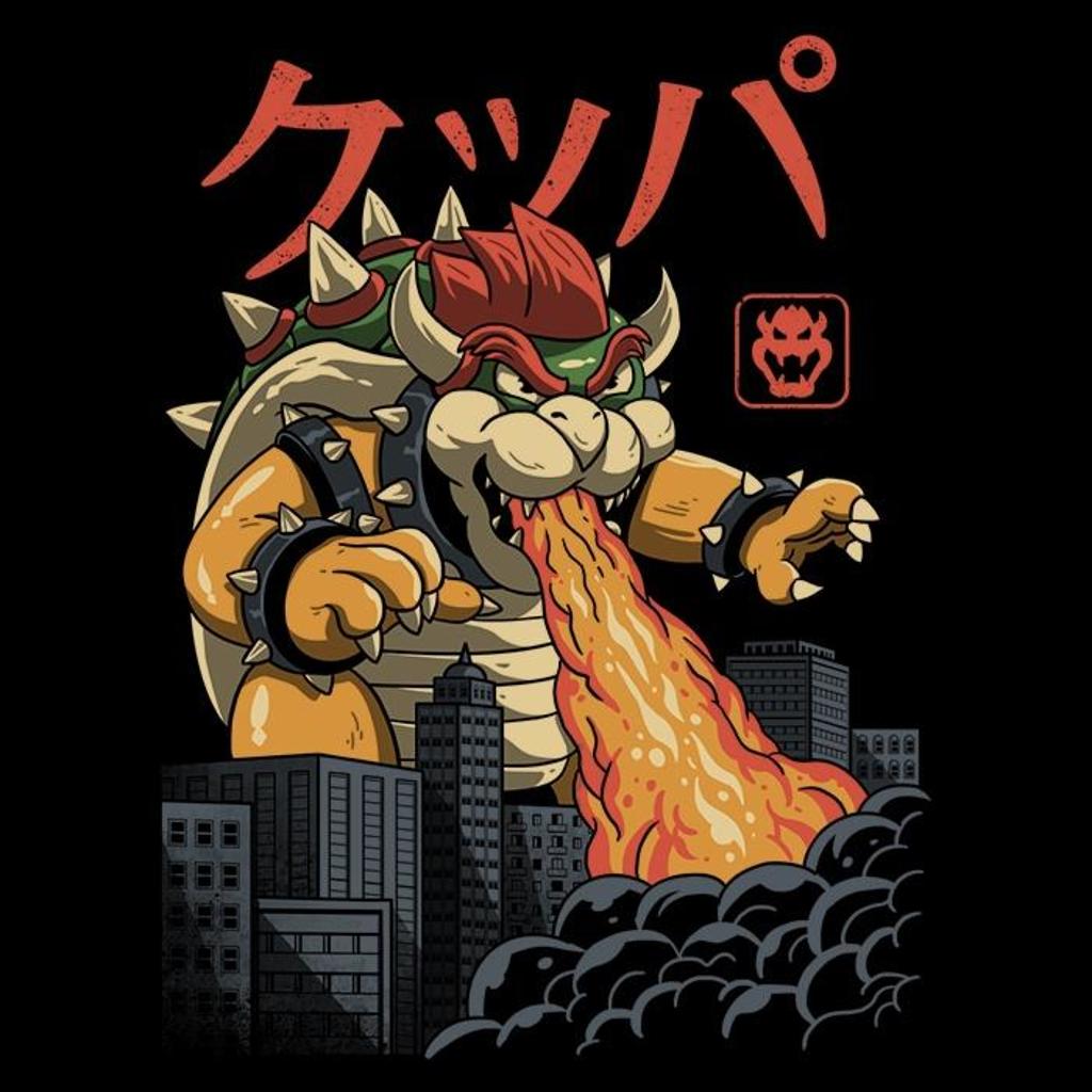 Once Upon a Tee: Koopa Kaiju
