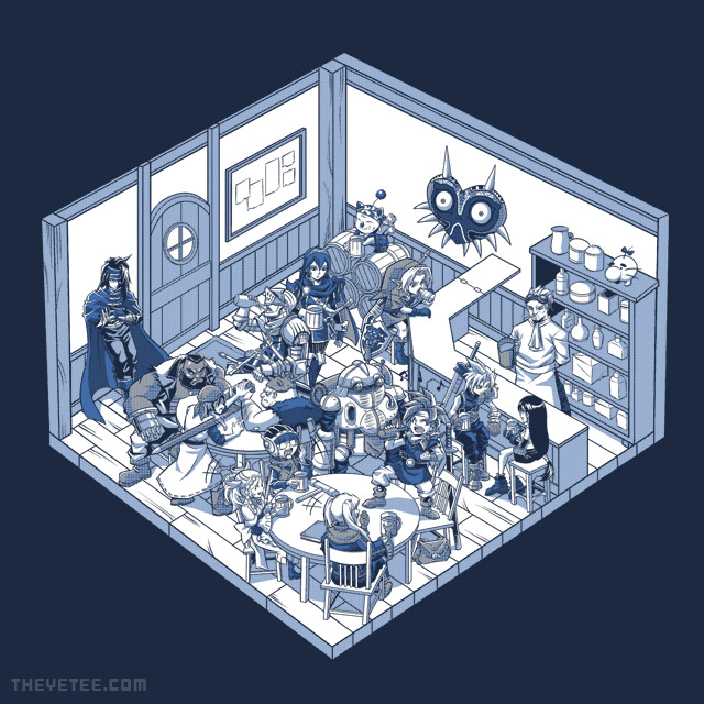The Yetee: Adventure Tavern