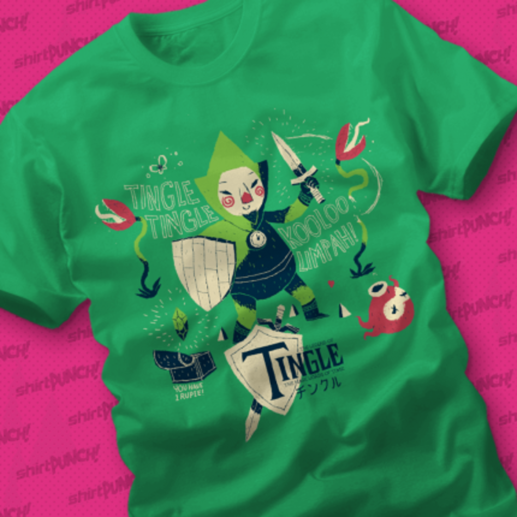 ShirtPunch: The Legend of Tingle