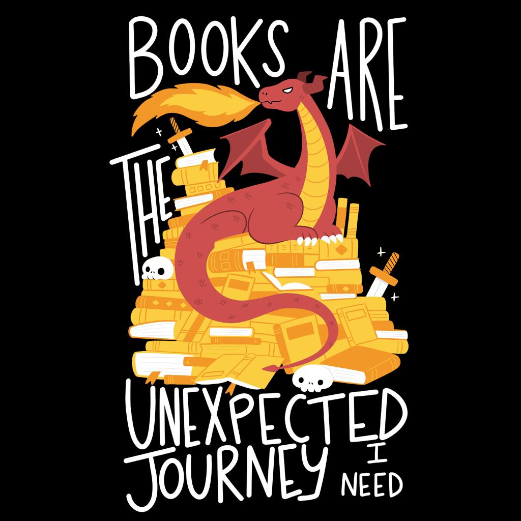 TeeTee: Book Dragon