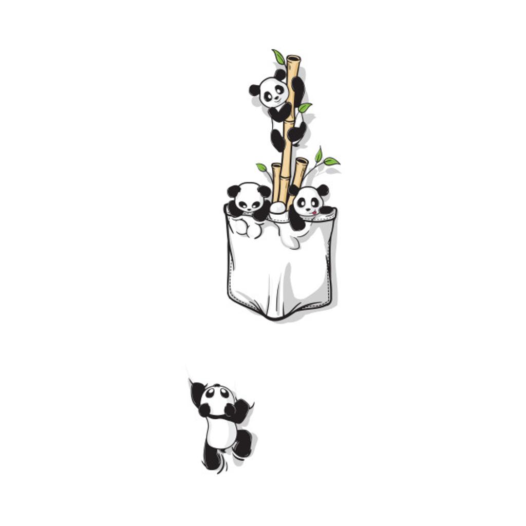 TeePublic: POCKET PANDAS